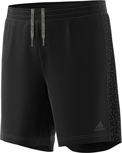 adidas Men's Running Supernova Shorts, Black, X-Large/5