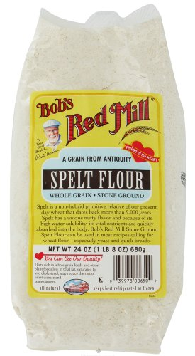 Bob's Red Mill - Spelt Flour Whole Grain Stone Ground - 24 oz (pack of 2) -