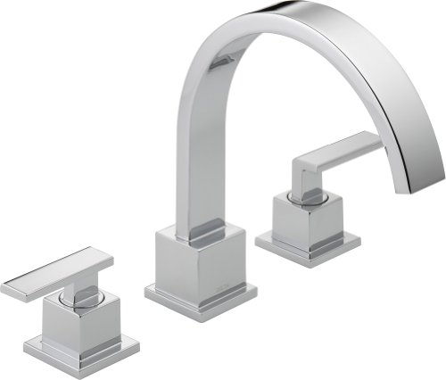 Chrome Roman Tub Set (Delta T2753 Vero Roman Tub Trim, Chrome)