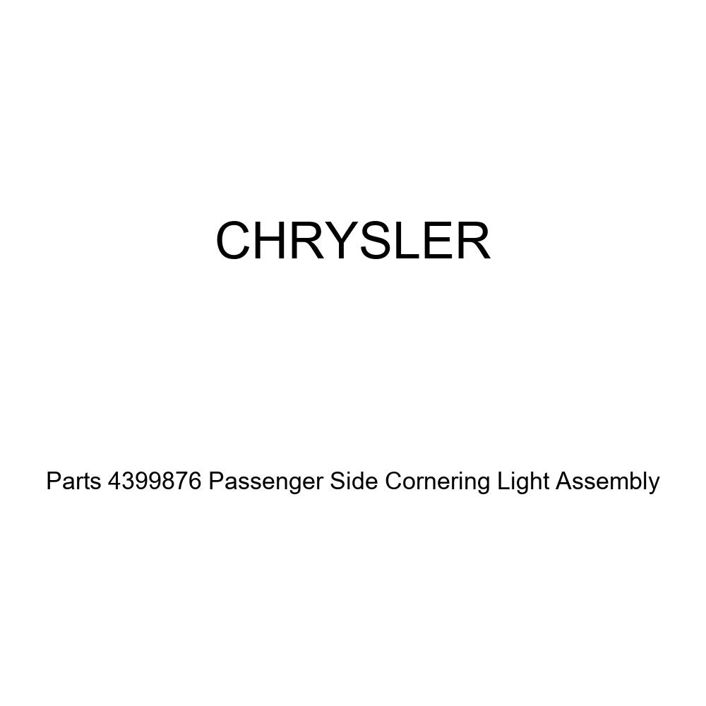 Genuine Chrysler Parts 4399876 Passenger Side Cornering Light Assembly