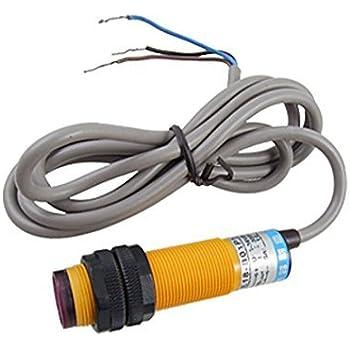 E30-R4PA PNP NO 3 Cables 1-4m Sensor Interruptor Fotoeléctrico Reflector 10-36V