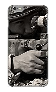 Case For Iphone 6 Plus Tpu Phone Case Cover(Sniper Sepia) For Thanksgiving Day's Gift