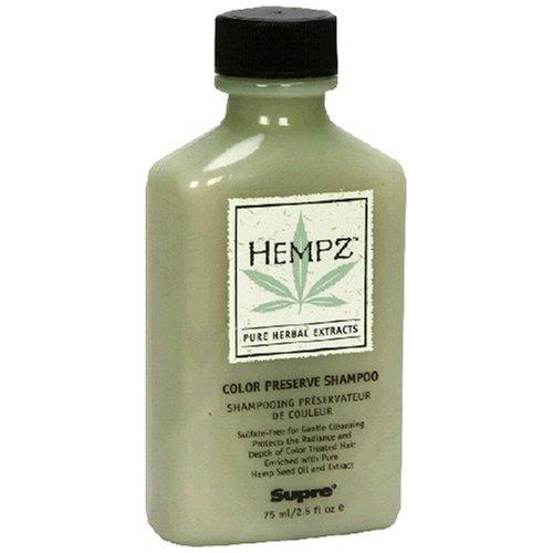 Hempz Pure Herbal Extracts Color Preserve Shampoo, 2.5 fl oz (75 ml)