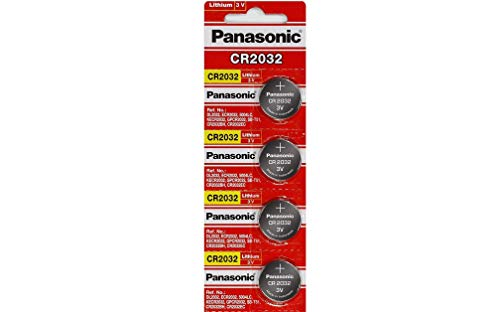 Panasonic CR2032 3V Lithium Coin Battery (Pack of 4) -