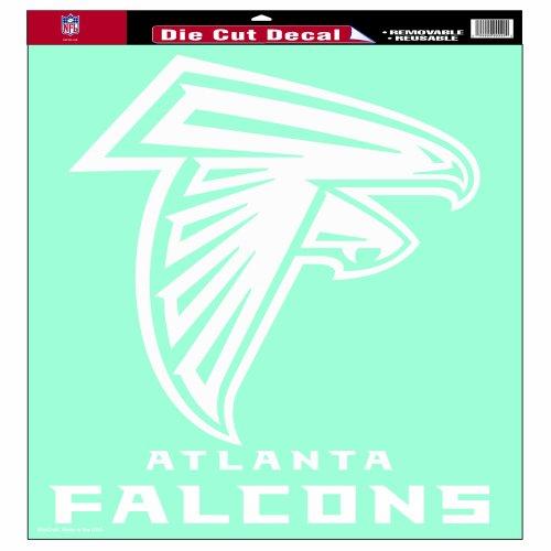 NFL Atlanta Falcons 18-by-18-Inch Diecut  Decal