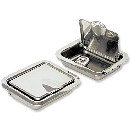 Eckler's Premier Quality Products 50-204387 - Chevelle Ashtray Assembly, Armrest, Rear, 2-Door Coupe