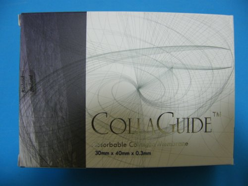 Dental Absorbable Collagen Membrane 30mm40mm(KFDA) by CollaGuide (Image #1)