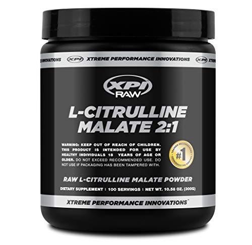 XPI RAW L-Citrulline Malate (2:1) Powder 300 Grams