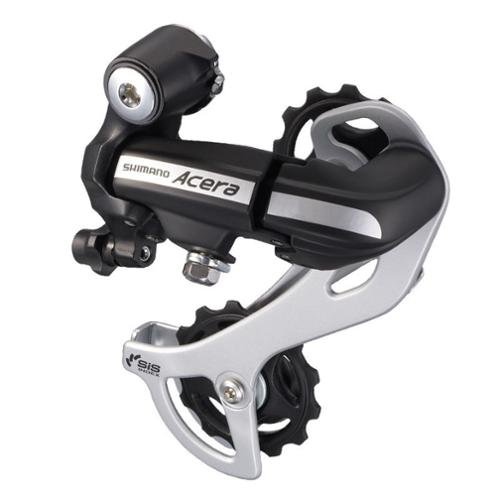 Shimano Acera M360 7 and 8-Speed Rear Derailleur with SmartCage, Black