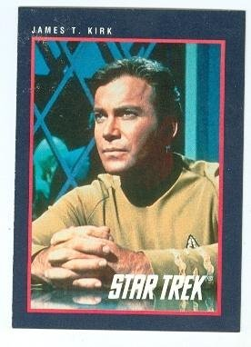 Image result for captain kirk trading cards