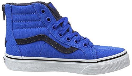 Vans Uy Sk8-hi Zip - Zapatillas Niños Azul (Canvas Imperial Blue/parisian Night)