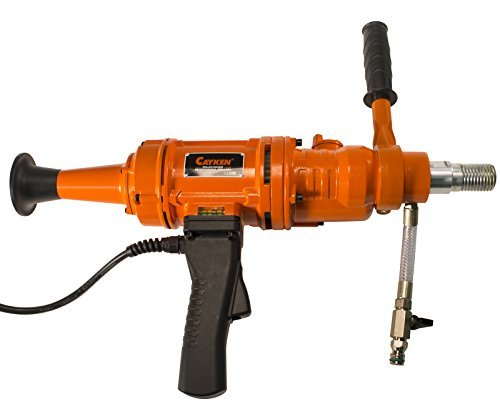 Cayken Handheld Diamond Core Drill Rig With 2 Gear Speeds Cuts Holes Up To 6 by CAYKEN
