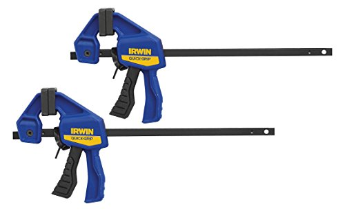 IRWINQUICK-GRIPOne-Handed Micro Bar Clamp 2 Pack, 4-1/4, 1964747 by Irwin Tools