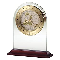 Howard Miller 645-603 World Time Arch Table Clock