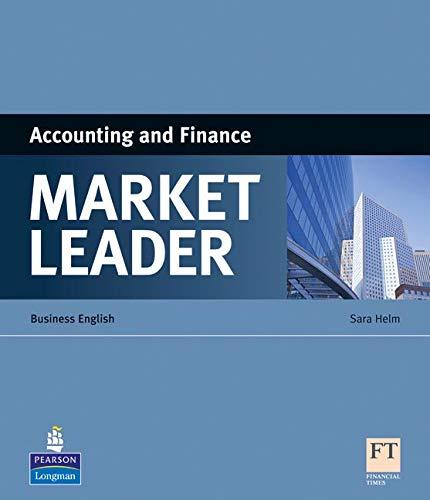 Market Leader Specialist Books Intermediate   Upper Intermediate Accounting And Finance