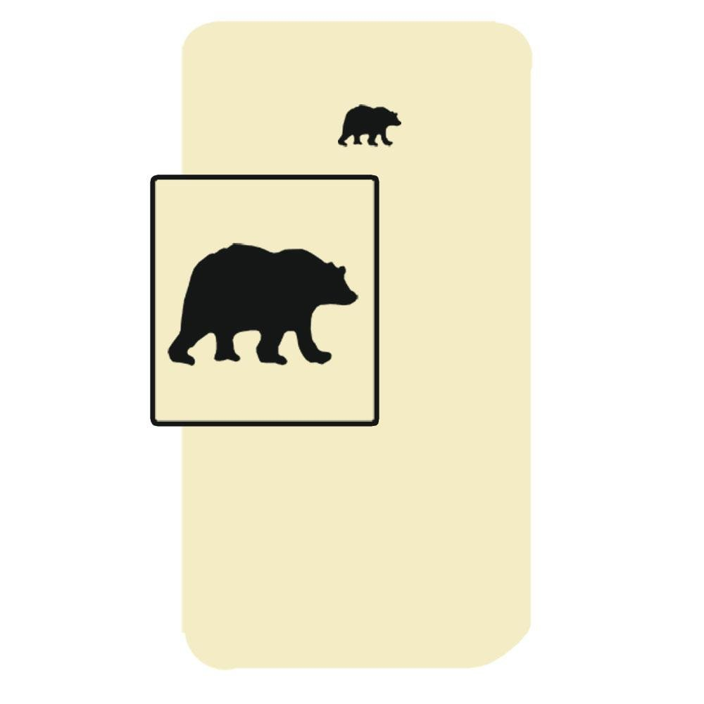 Patch Magic 30-Inch by 50-Inch Bear Country Sheet Set Crib