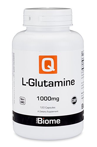 L Glutamine Amino Acid Supplement: Dietary Supplements for Immune Support, Digestive Health, Muscle Recovery & Mood Enhancement – Gluten Free, Non GMO, GMP Certified L-Glutamine 1000mg – 120 Capsules Review