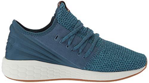 New Balance Women's Fresh Foam Cruz Decon V2 Sneaker, Tidepool/White, 10.5 M US