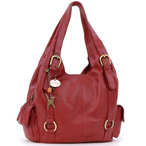 De Hombro Bolso Collection Alex Grande Handbags Cuero Catwalk Rojo TZpqIZ