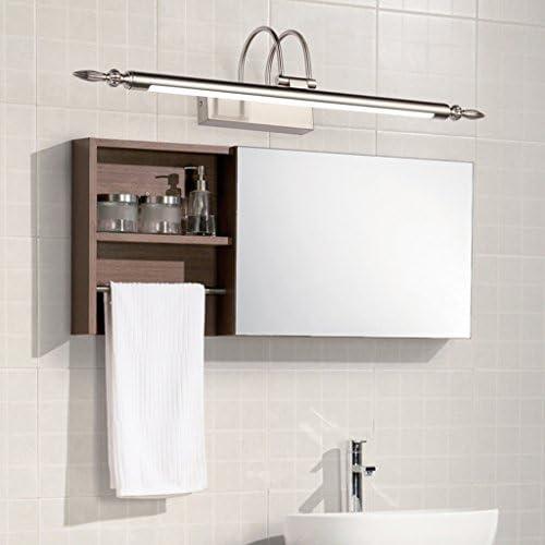 . Spiegel Licht, Anti-Fog und wasserdicht zeitgenössische Spiegel Lampe Wandleuchte ist geeignet für Badezimmer, Schlafzimmer, Kommode, Fresko (Color : White light)
