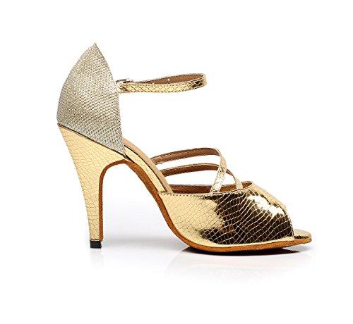 Miyoopark - salón mujer Gold-10cm Heel