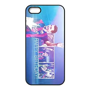 Sports leo messi 28 years old iPhone 4 4s Cell Phone Case Black DIY Ornaments xxy002-9229207