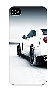 Gregorymalone Design High Quality Snow White Cars Nissan Vehicles Nissan Tailight Cover Case With Ellent Style For Iphone 5/5s(nice Gift For Christmas)