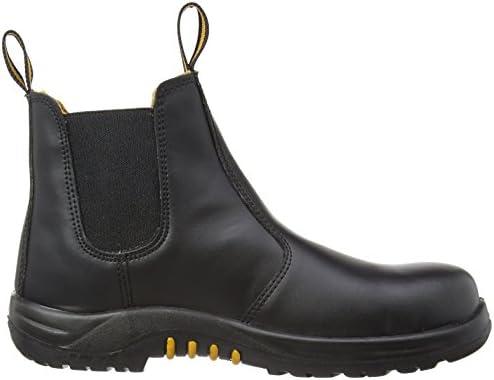 V12 Safety VR609 Colt Mens Work Dealer Boots Shoes Black Leather Toe Cap Sole UK