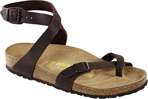 Birkenstock Men´s Yara Habana Waxy Leather Sandals 40 EU (M7/L9 US) R 013391