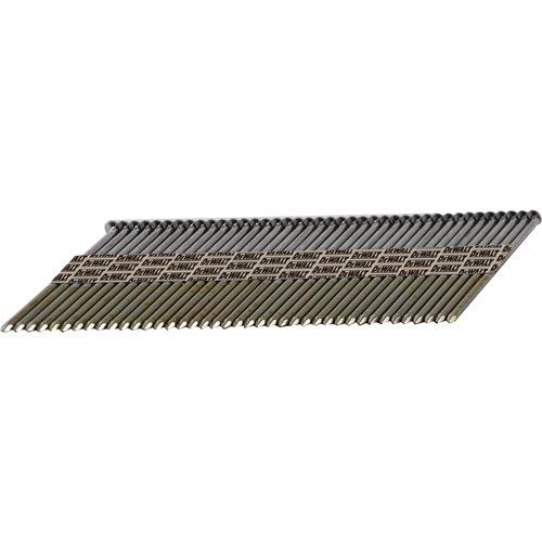 DEWALT DPT-6D113FH 2-Inch x .113-Inch Paper Tape 30-Degree Smooth Bright Off-Set Round Head, 5,000ct
