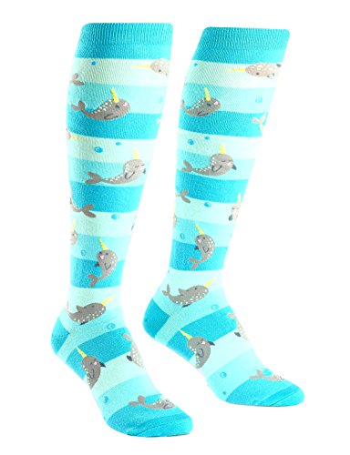 Narwhal Gifts - Sock It To Me Women's Knee High Socks - Unicorns of the Sea
