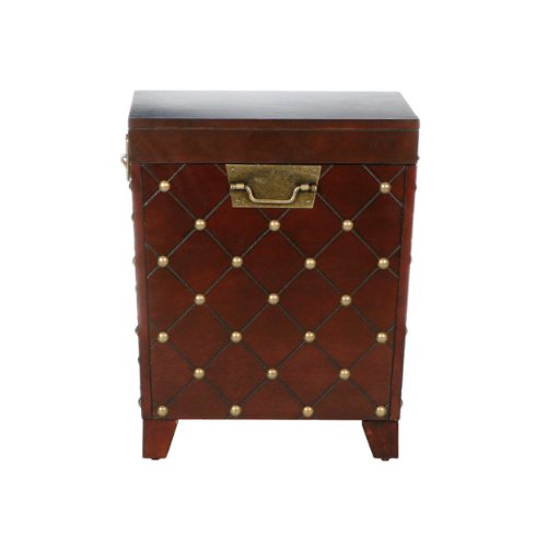 037732062259 - Caldwell Trunk End Table Espresso carousel main 7