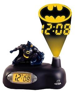 Batman Projection Alarm Clock Amazon Co Uk Kitchen Amp Home