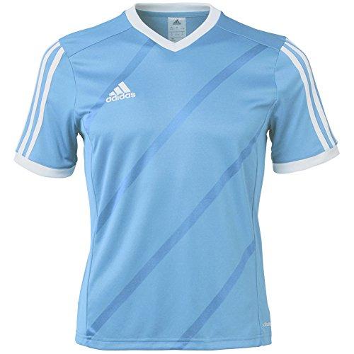 adidas Performance Boys Youth Tabela 14 Short Sleeve Jersey, Large, Bold Blue/White