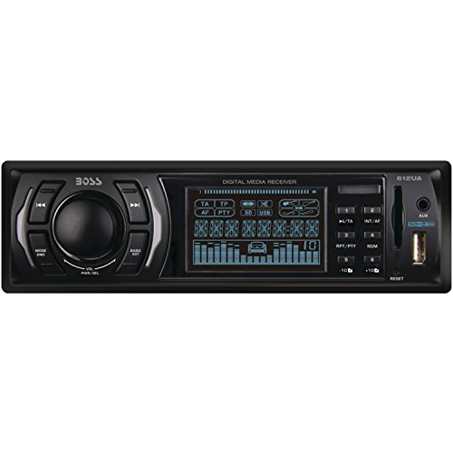 BOSS Audio 612UA Single Din, MP3/USB/SD AM/FM Car Stereo, Wireless Remote (2002 Chevy Impala Cd Player)