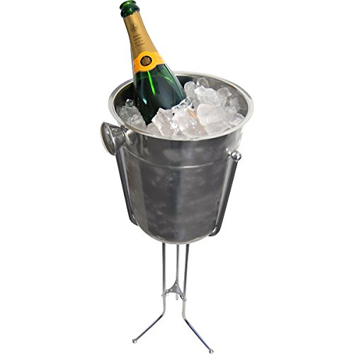Champagne & Wine Bucket with Stand by KegWorks