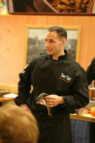 Chef Revival J017BK Cotton Cuisinier Long Sleeve Chef Jacket with Cloth Covered Button, 5X-Large, Black (Clothing Chef Revival)