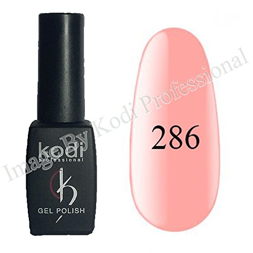 Kodi Professional color Gel LED UV Original Nail Polish Soak Off 8ml 0.28 Oz + Present Kodi Nail File (Gel Polish # 286) - 286 Matt