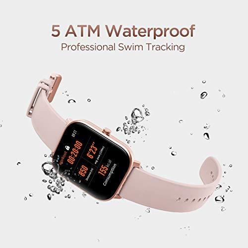 Amazfit GTS Smartwatch Fitness tracker con multitud de perfiles de actividad físcia y con GPS embebido, resistencia al…