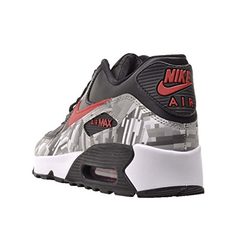 Air Red Zapatillas Max deporte grey Black de 90 2007 Nike qxt876HwZ8