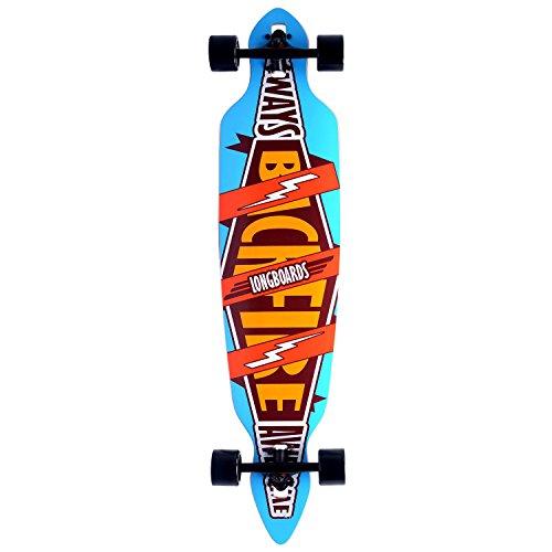 Brand New Cruiser Through Longboard 9.5×42″ Sugar maple Muti-colour Deck