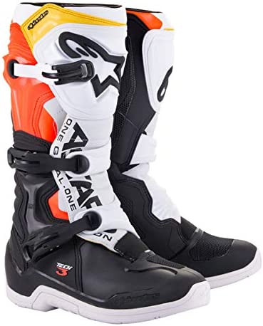 Alpinestars Tech 3 Motocross Off-Road Boots 2018 Version Mens Black Size 8