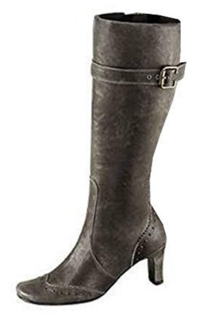 Unbekannt Stiefel aus weichem Leder Ziegen Leder weichem in taupe 1520a1