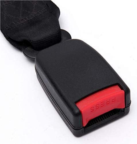 tenants us Universal Seat Belt Extender Extension Car Seat Lap Belt Adjustable Length Seat Belt Black 1 PC