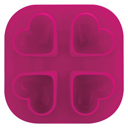 Tovolo Heart Ice Molds Pink