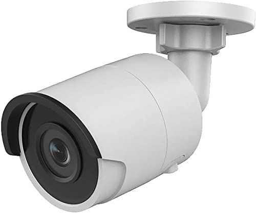 VIKYLIN 6MP PoE IP Bullet Camera 2.8mm Lens,OEM Compatible with Hikvision, Indoor Outdoor Network Home Surveillance Security Camera with 98ft Night Vision, Micro SD Card Slot, H.265 ,IP67 Waterproof,