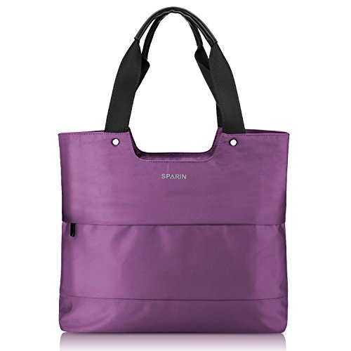 Laptop Tote Bag, SPARIN Women Shoulder Bag Lightweight Nylon