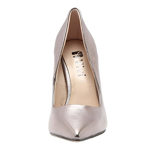 Gun On Vivi Heel Womens For Party Wedding Stiletto Slip Pumps High Color Pointed PwSfxwqnaR