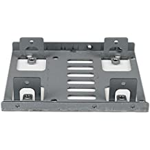 "StarTech.com Dual 2.5"" to 3.5"" Hard Drive Bay Mounting Bracket - 2.5"" to 3.5"" HDD / SSD Mounting Bracket w/ SATA Power and Data cabling"