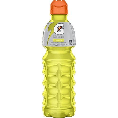 Gatorade Sport Drink, Lemon Lime, 24-Ounce Bottles (Pack of 24)